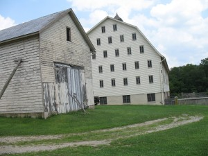 The cool old barns of Sheppard Farms.